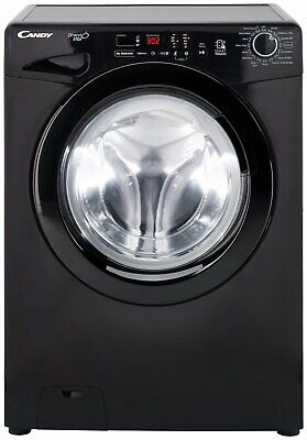 Candy GVS149D3B Free Standing 9KG 1400 Spin Washing Machine A+++ Black.