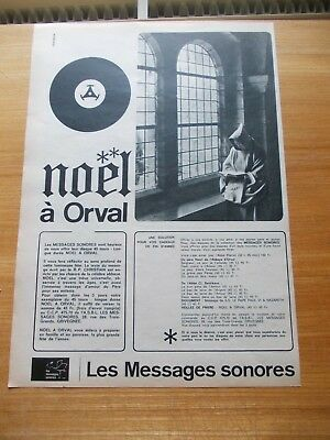 Ancienne Publicite Noel A Orval 1964