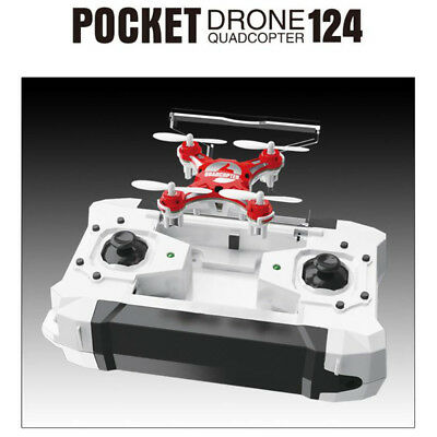 Mini FQ777 124 Pocket RC Drone GPS 4CH 6 Axis Gyro Quadcopter Toys Micro US KK