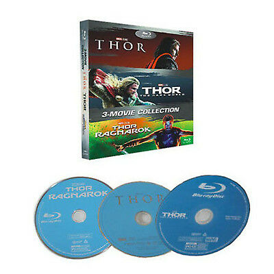 Thor 1-3 Blu-ray Box Set (Free post)