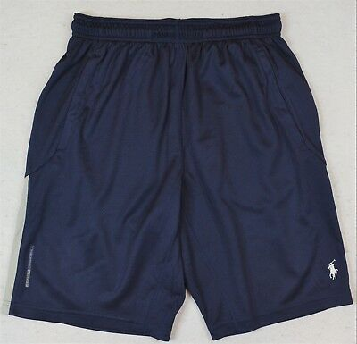 Polo Sport Ralph Lauren Shorts Performance Thermovent Athletic Navy XL & XXL NWT