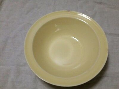 "Vintage Lu-Ray Pastels~Yellow 9"" Vegetable Serving Bowl"