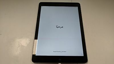 """Apple iPad Air 9.7"""" A1474 16GB Space Gray WiFi Only Fully Working"""