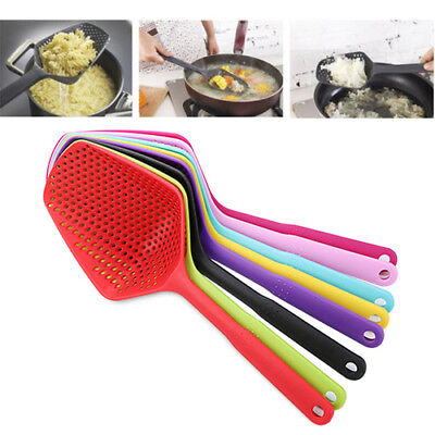 1Pc No-stick Plastic Drain Shovel Strainers Water Leaking Shovel Ice Colanders