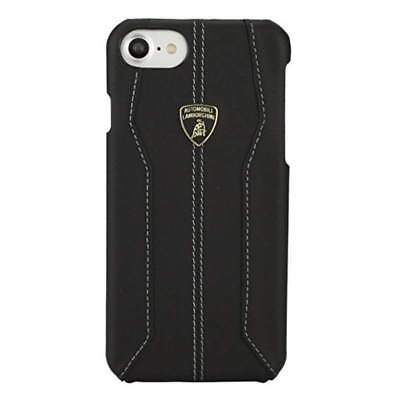 Lamborghini Huracan-D1 Genuine Leather Back Сase for iPhone 7 Black