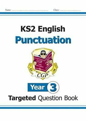 KS2 English Targeted Question Book: Punctuation - Year 3 by CGP Books...