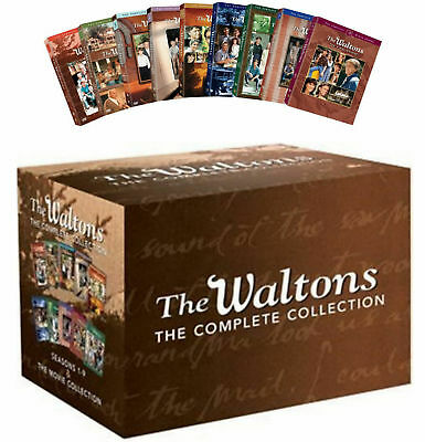 The Waltons: The Complete Series DVD Box Set Season 1-9 plus Movie Collection