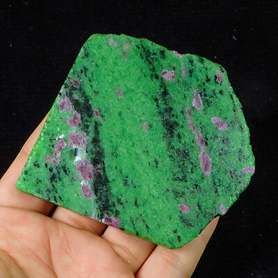 624.85Ct 100% Natural Red Green Bi Color Ruby In Zoisite Rough Specimen YGB113
