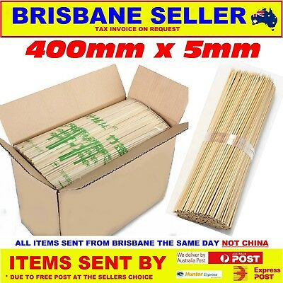 Bamboo Skewers x 2000 Size 400mm x 5mm 7039777509174