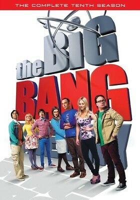 Warner Home Video D632277D Big Bang Theory-Complete 10Th Season (Dvd/3 Disc)