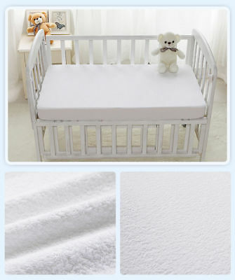 Waterproof Mattress Protector Cot Bed Size Baby Nursery Fitted Sheet 140 X 70 Cm