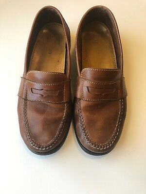 9669a632ac MENS COLE HAAN Pinch Hand Sewn Grand OS Black Penny Loafer Size 11 M ...