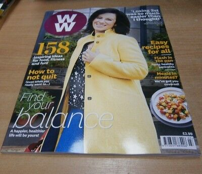 WW Weight Watchers magazine MAR 2019 Find your Balance, How to Not Quit, Recipes