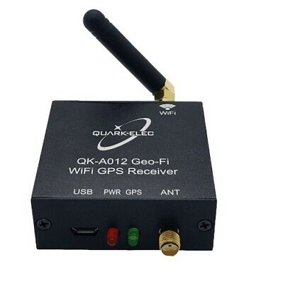 Quark QK-A012 GPS Receiver with WiFi output + QK-AS04 GPS Antenna
