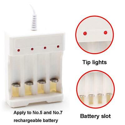 Rechargeable Li-ion Battery 4 Slots 18650 LED Battery Charger USB Charger