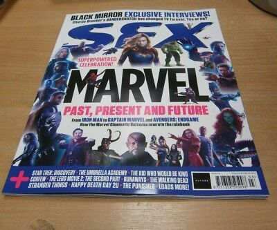 SFX magazine #310 MAR 2019 Marvel Past Present & Future, Black Mirror, Curfew &