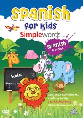 Spanish For Kids: Simple Words [DVD] [NTSC], 9781908079008