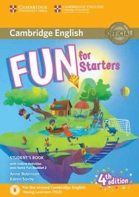 FUN FOR STARTERS STUDENTS BOOK WITH ONLI, Robinson, Anne, Saxby, ...