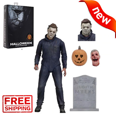 """NECA Halloween Michael Myers Ultimate 7"""" Action Figure 2018 Movie Collection US"""