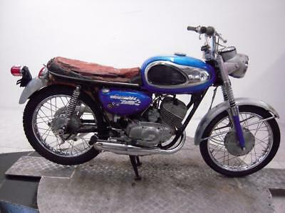 1968 Suzuki T200 Invader Unregistered US Import Classic Restoration Project