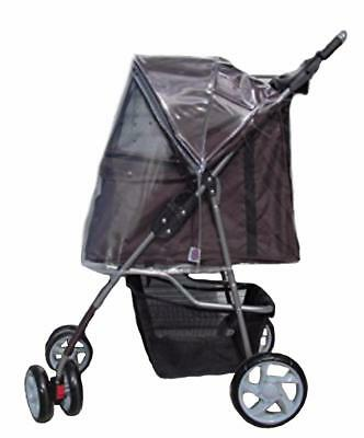 RAINCOVER for dog stroller Foxhunter Pet Buggy/Pushchair/Pram for Dogs & Cats