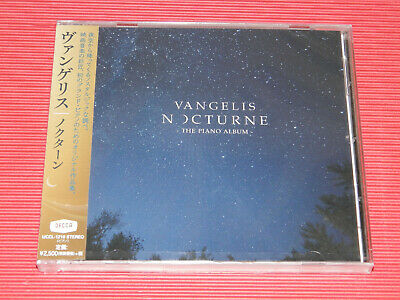 2019 VANGELIS Nocturne The Piano Album JAPAN CD