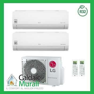 Conditionneur D'Air LG Inverseur Loisirs R-32 9000+ 12000 MU2R17 9 + 12