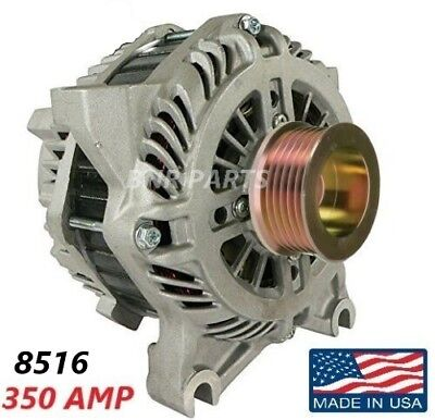 350 Amp 8516 Alternator Ford Mustang 4.6L High Output Performance HD NEW USA