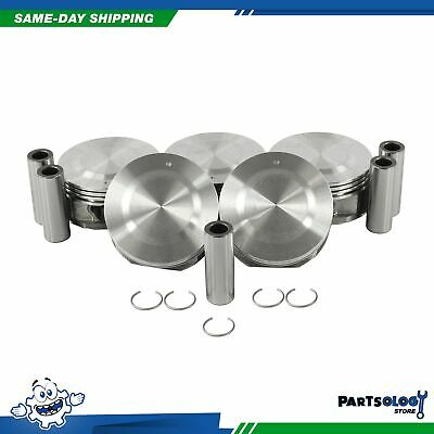DNJ RB3122 Standard Rod Bearing Set For 04-12 Chevrolet Canyon 3.5L 3.7L L5 DOHC