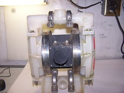 "All-Flo 1"" Polypropylene Air Operated Double Diaphragm Pump Bk-10E"