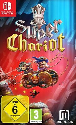 Super Chariot Nintendo Switch Brand New Sealed Official Game PEGI 3