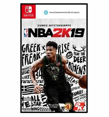 NBA 2K19 Nintendo Switch 2018 - *Game not included*