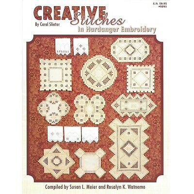 Creative Stitches in Hardanger Embroidery - Pattern Instructions