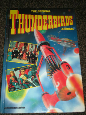 The Official Thunderbirds 1993 annual hardback in Mint condition