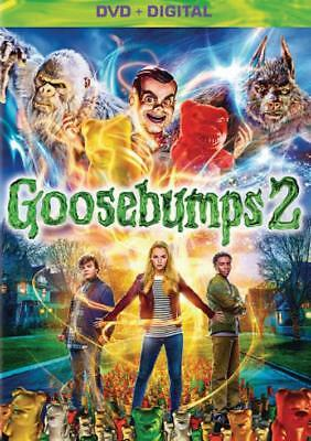 Goosebumps 2: Haunted Halloween New Dvd
