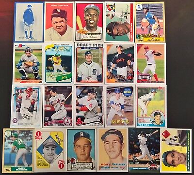2019 Topps Series 1 Baseball ICONIC CARD REPRINTS Inserts (Pick Your Own)