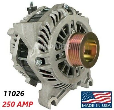 250 AMP 11026 Alternator Crown Victoria Town Car Police High Output Performance