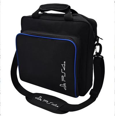 New Travel Carry Case Bag for Ps4 Playstation 4 Console Shoulder Carrying Black