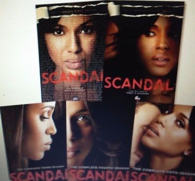 SCANDAL: The Complete TV Series 1-5 Bundle Brand New