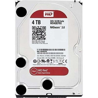 Wd Red Nas Hard Drive Wd40Efrx - Hard Drive - 4 Tb - Internal - 3.5... NEW