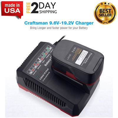 NEW Battery Charger for Craftsman C3 9.6 Volt and 19.2 Volt Lithium-Ion Battery