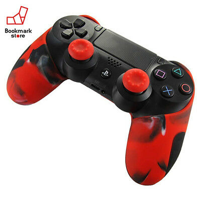 *NEW Bluefire Ps4 Playstation 4 For Controller Silicon Cover Red Color F/S