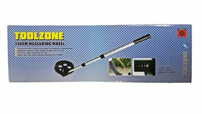 Toolzone Telescopic 1000m Distance Measuring Wheel Worksite Surveyor Builders