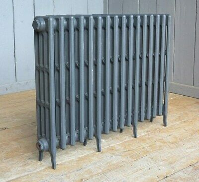 Victorian 4 Column Cast Iron Radiator to Go 16 Sections Long - Next Day Delivery