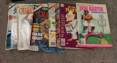 Cracked & Crazy Magazine ~ Huge Lot Of 23 Issues-Mad - Great Deal! ~ Free Ship!