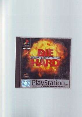 Die Hard Trilogy - Sony Ps1 Game / Ps2 Ps3 Compatible - Fast Post - Complete