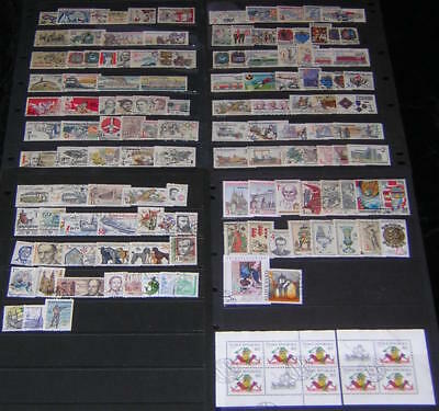 Czechoslovakia post-1981 Collection 130 diff stamps