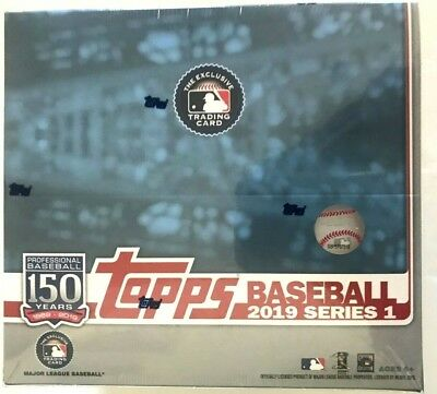 2019 Topps Series 1 Baseball Retail Box