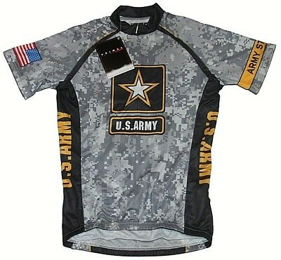 MENS PRIMAL U.S. ARMY Strong Camo Bike Cycling Performance Jersey ... 123d6297d