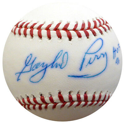 28ae1a0455f Gaylord Perry Autographed Signed MLB Baseball Giants